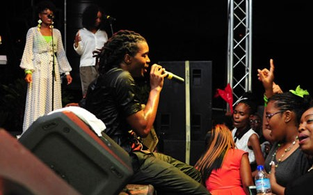 Trinidad and Tobago gospel reggae artist Positive